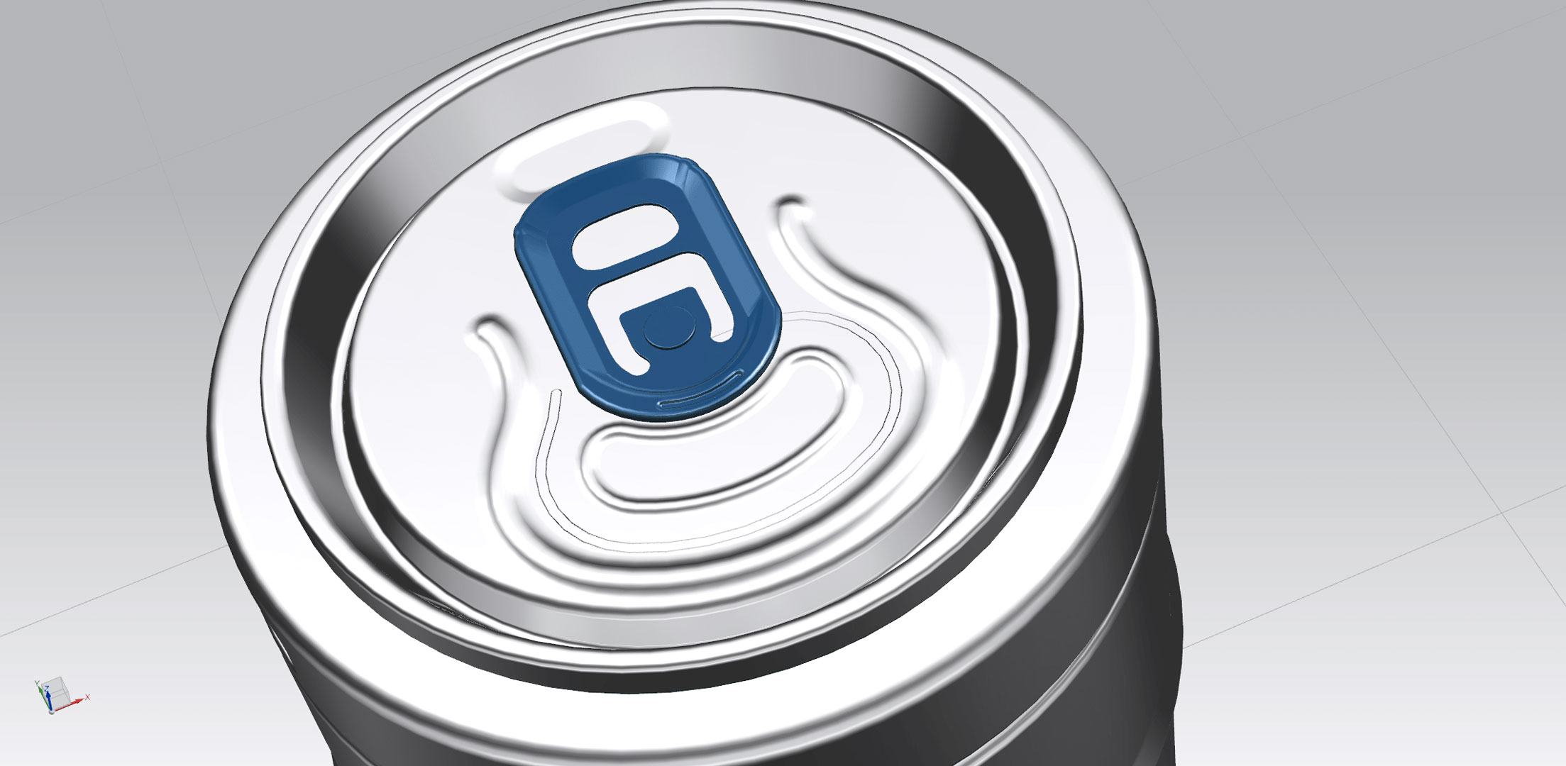 cad beer can adaptive designs