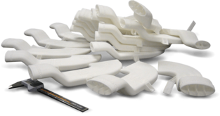 strong tough polyamide nylon material for production parts adaptive designs